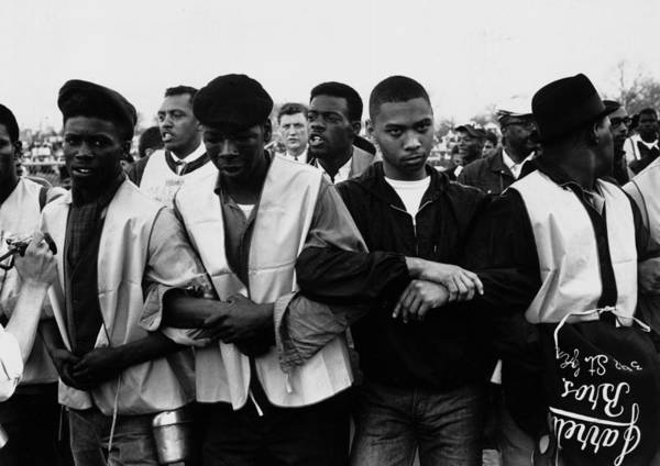 Photograph - Voting Rights March by William Lovelace