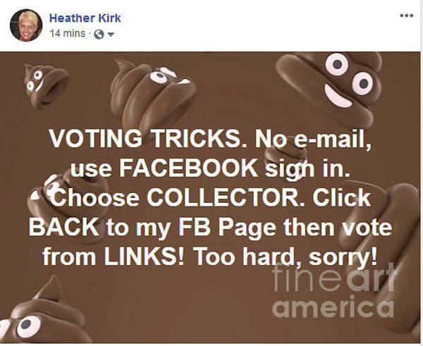 Wall Art - Digital Art - Voting Tricks by Heather Kirk