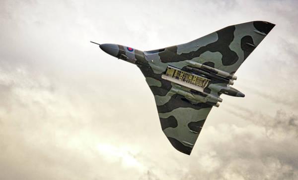 Photograph - Vulcan Bomb Doors Open by Scott Lyons