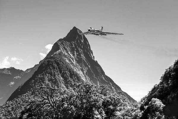 Photograph - Vulcan In Milford Sound by Gary Eason
