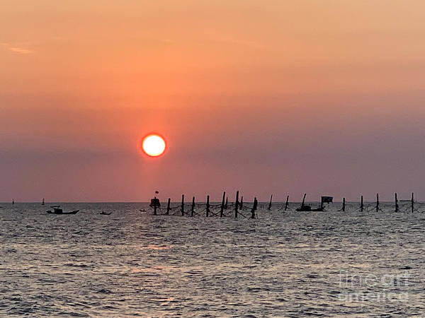 Wall Art - Photograph - Vung Tau Sunset by Andrew Dinh