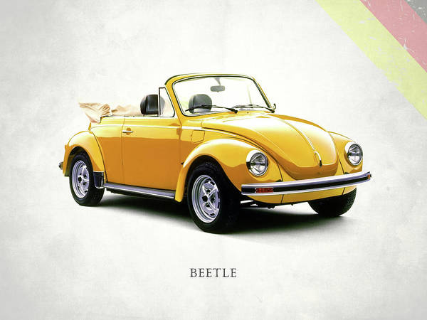 Vw Beetle 1972 Art Print