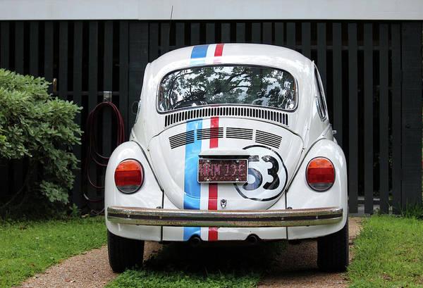 Photograph - Vw Bug Car by Cynthia Guinn