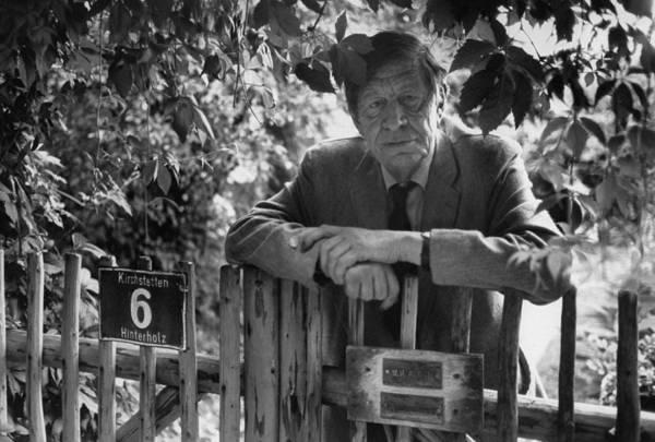 Poet Photograph - W. H. Auden by Harry Redl