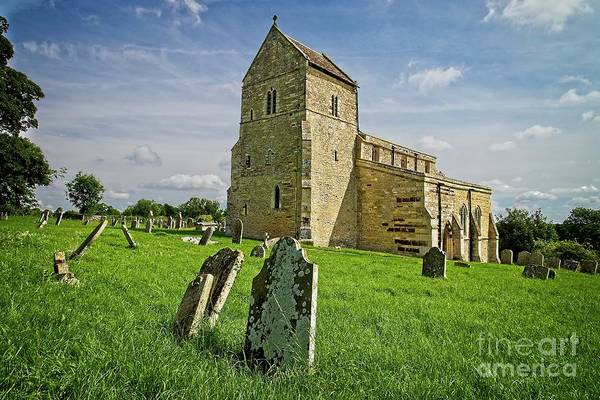 Photograph - Wadenhoe Church Northamptonshire by Martyn Arnold