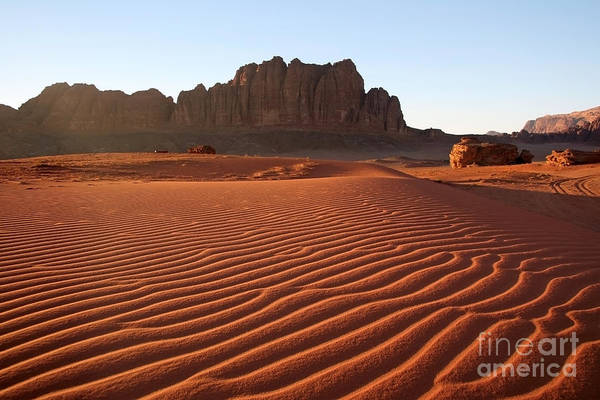 Wall Art - Photograph - Wadi Rum Desert by Tamarasovilj