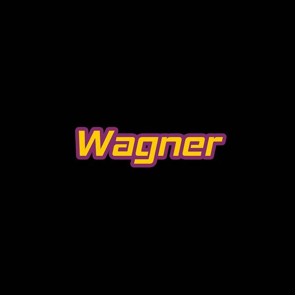 Wall Art - Digital Art - Wagner #wagner by TintoDesigns