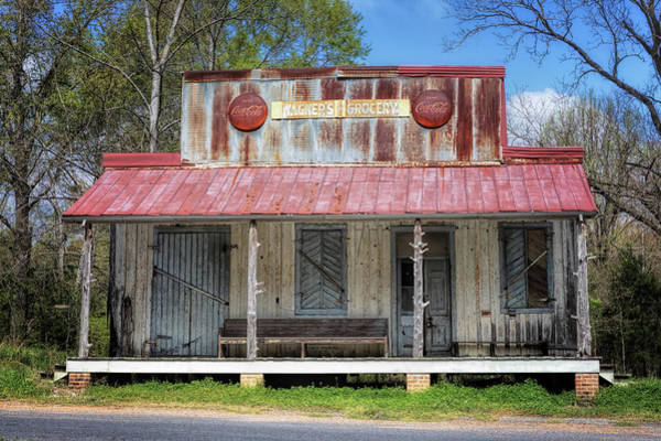 Photograph - Wagner's Grocery by Susan Rissi Tregoning