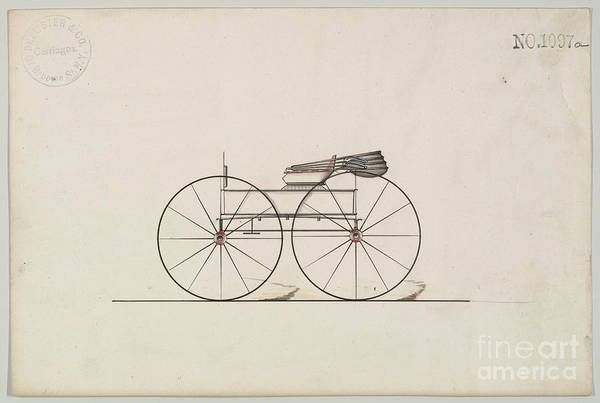 Drawing - Wagon No 1097 by Flavia Westerwelle