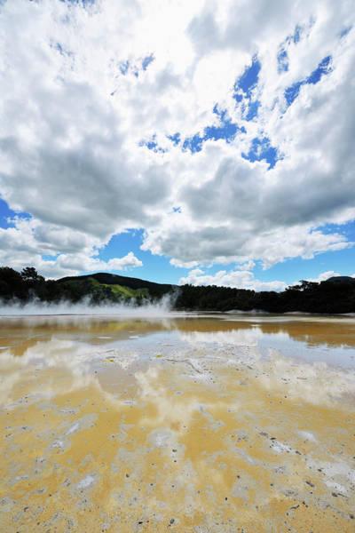 Photograph - Wai-o-tapu Thermal Wonderland by Raimund Linke