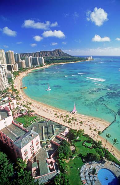 Beach Holiday Photograph - Waikiki Beach by Chad Ehlers