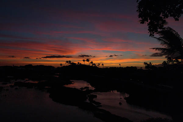 Photograph - Waikoloa Sunset by John Daly