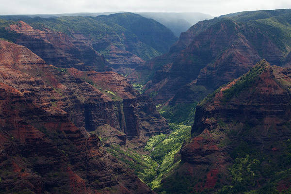 Waimea Canyon Photograph - Waimea Canyon,kauai,hawaii by Marc Romanelli