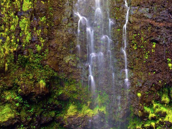 Photograph - Waimoku Falls by Christopher Johnson