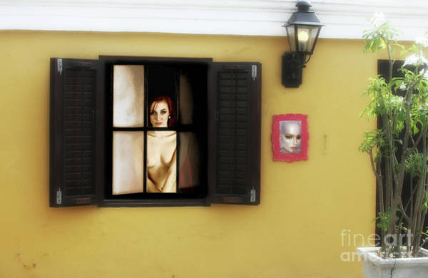 Wall Art - Photograph - Waiting At The Window  by ManDig Studios