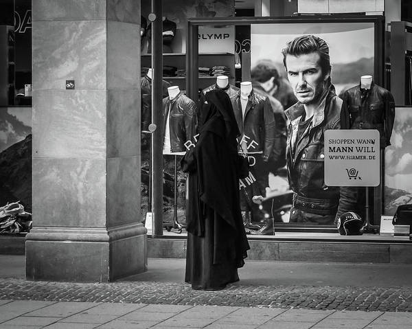 Art Print featuring the photograph Waiting For Beckham by Borja Robles