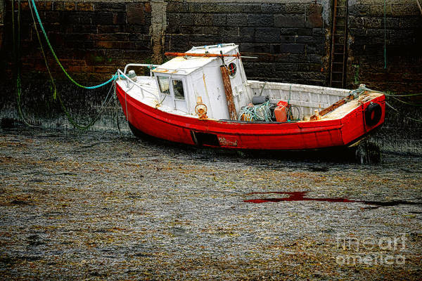 Wall Art - Photograph - Waiting For Better Tide by Olivier Le Queinec