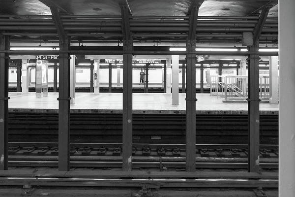 Photograph - Waiting For The Metro by Sharon Popek