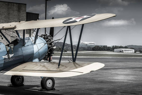 Wall Art - Photograph - Waiting For The Newbie To Land by Jim Love