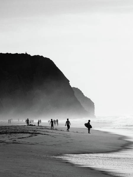 Surfing Photograph - Waiting For Wave by Daniel Kulinski