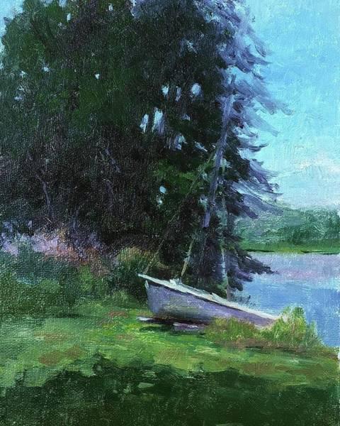 Wall Art - Painting - Waiting To Sail by Kit Dalton