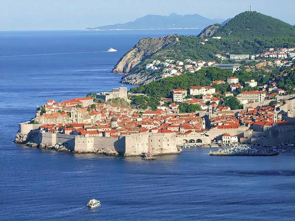 Digital Art - Waking Up In Dubrovnik by Joseph Hendrix
