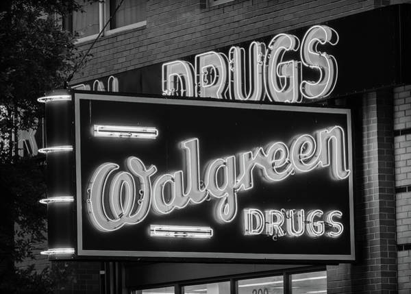 Wall Art - Photograph - Walgreen Drugs #1 by Stephen Stookey