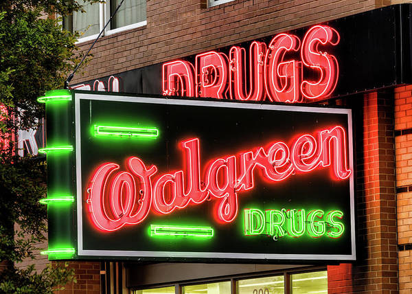 Wall Art - Photograph - Walgreen Drugs #2 by Stephen Stookey