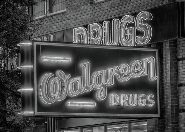 Wall Art - Photograph - Walgreen Drugs #3 by Stephen Stookey