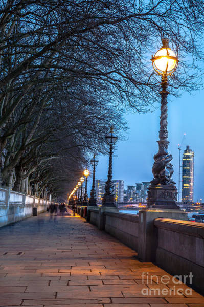 Westminster Bridge Photograph - Walk Along The Thames In London by Arturasker