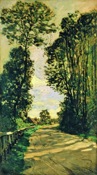 Wall Art - Painting - Walk, Road Of The Farm Saint-simeon - Digital Remastered Edition by Claude Monet