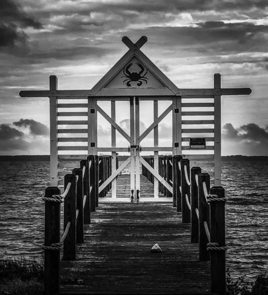 Photograph - Walk This Way Black And White by Jeremy Guerin