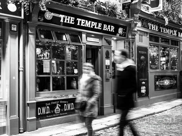 Wall Art - Photograph - Walk Through Temple Bar At Night In Dublin by John Rizzuto