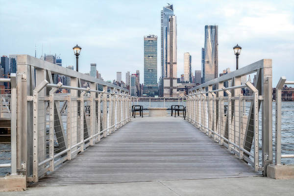 Photograph - Walk To New York City Skyline by Susan Candelario