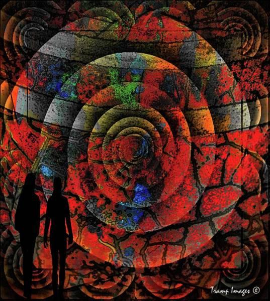 Digital Art - Walk With Me by Wesley Nesbitt