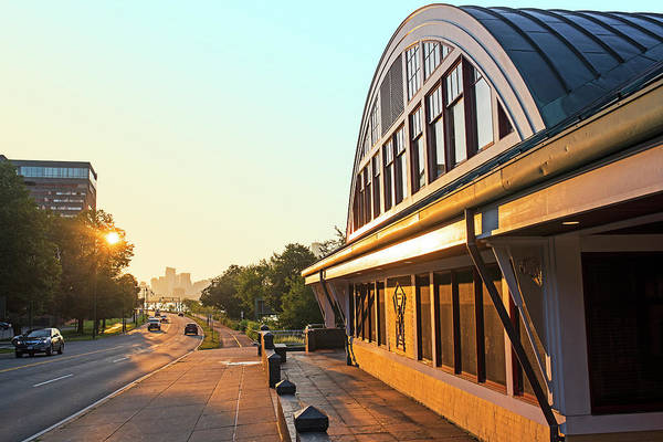 Photograph - Walking By The Dewolfe Boathouse On The Charles River At Sunrise by Toby McGuire