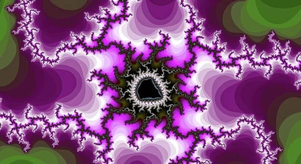 Digital Art - Walking Magenta Spider Fractal by Don Northup