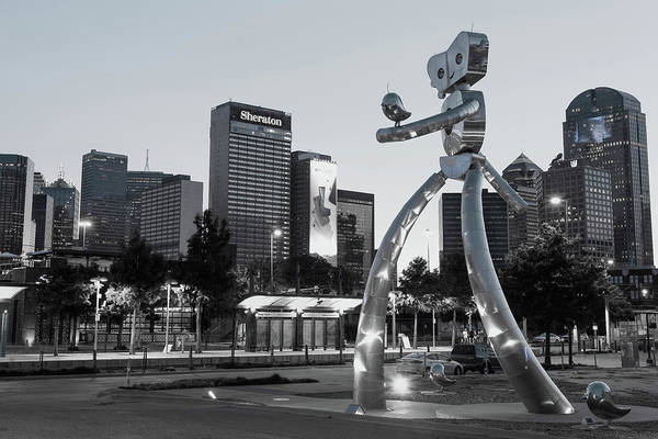 Photograph - Walking Tall Dallas Texas 071419 by Rospotte Photography
