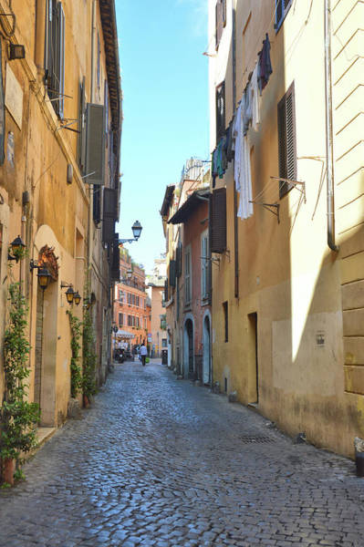 Photograph - Walking The Cobblestone by JAMART Photography