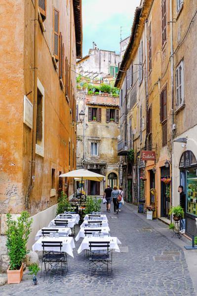 Photograph - Walking The Cobblestone Streets Of Sorrento Italy by Robert Bellomy