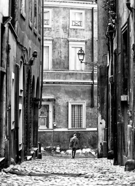 Photograph - Walking The Streets Of Rome by John Rizzuto