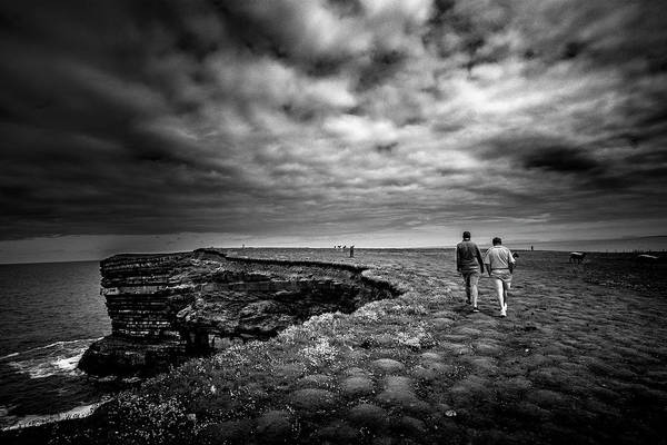 Photograph - Walking To The Edge by Alan Campbell