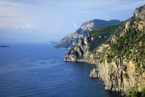 Photograph - Walking Towards Eternity - Amalfi Coast by Mary Machare