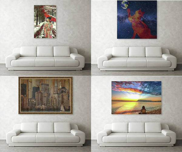 Digital Art - Wall Art Samples by Alex Mir