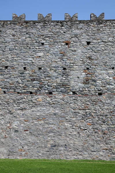 Fortified Wall Art - Photograph - Wall In Castelgrande, Bellinzona's by Ifish