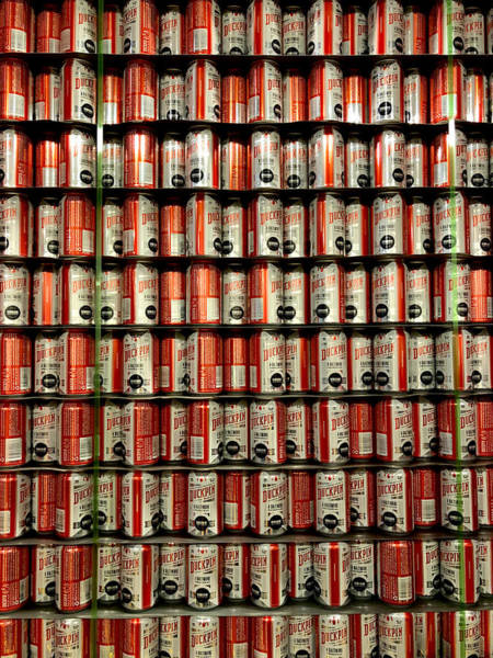 Photograph - Wall Of Beer by Chris Montcalmo