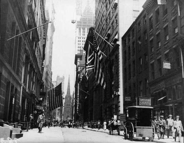 Trinity Photograph - Wall Street by Fpg