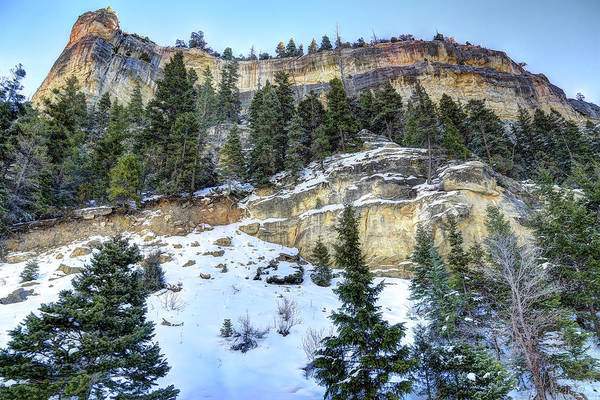 Wall Art - Photograph - Walls Into Cedar Canyon by Donna Kennedy
