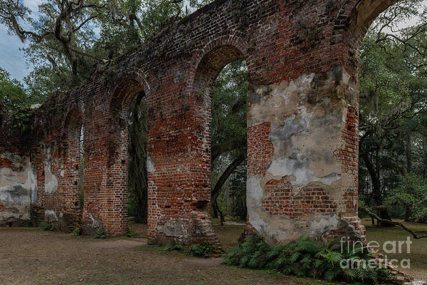 Photograph - Walls Of God - Sheldon Church by Dale Powell