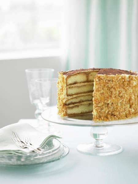 Walnut Photograph - Walnut Cake by Steve Brown Photography